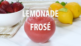 Strawberry Lemonade Frosé