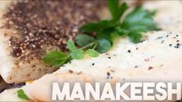 Manakeesh - Arabic Style Pizza - Vegetarian