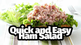 Quick And Easy Ham Salad
