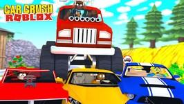 ONE BILLION DOLLAR SUPERCAR DISASTER - CAR CRUSHERS 2 Roblox gaming adventures