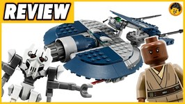 General Grevious Combat Speeder Review - 2018 Lego Star Wars 75199