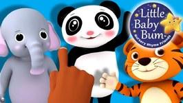 Ten Little Fingers - Nursery Rhymes for Babies - Songs for Kids