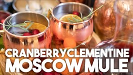 Cranberry And Clementine Moscow Mule - Holiday Special