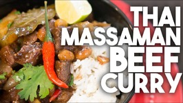 Thai MASSAMAN BEEF Curry - Inspired By POO Of JAMIE OLIVER's Food Tube