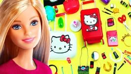 100 DIY Miniature Barbie Dollhouse Accessories And Lifehacks - 8