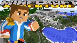 Minecraft-Little Donny Adventures- A TOUR OF MY AMAZING VILLA w/ DONUT & IRON MAN