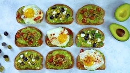 Avocado Toast with California Ripe Olives