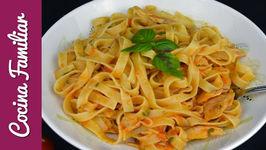 Pasta pomodoro con atún en aceite - Recetas de pasta