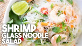 Heathy And Quick Shrimp Glass Noodle Salad
