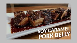 Soy Caramel Pork Belly