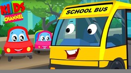 Little Red Car - Colors Cars Song - Nursery Rhymes