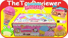 Smooshy Mushy Series 3 Creamery Squishies Mystery Box Blind Bags Unboxing Toy Review