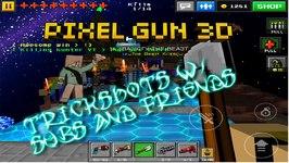Pixel Gun 3D - Trickshotting With Subs N Friends