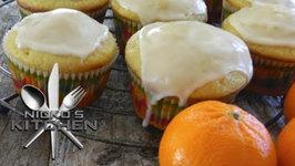 Healthy Orange Cupcakes