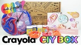 Crayola CIY Box Marble Madness DIY Acrylic Pour