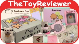 Fall 2017 Pusheen The Cat Subscription Box Exclusive Plush Unboxing Toy Review