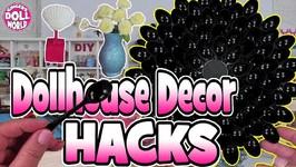 Dollhouse Decor Hacks for Decorating Dollhouses