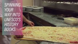 Mamma Mia! Pizza Twirling Now Official World Heritage