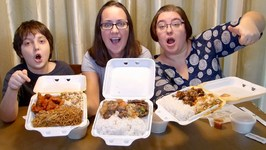 Chinese Food Takeout -Gay Family Mukbang - Eating Show