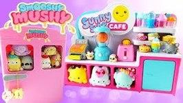 Smooshy Mushy Fridge and Sunny Side Cafe Playsets