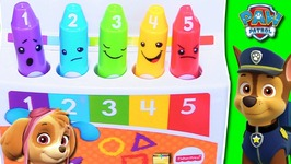 PAW PATROL SCHOOL GAME with Mood Emoji Color Crayons - LEARNING COLORS Educational Kids Video