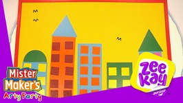 Giant Colourful City - Mister Maker's Arty Party