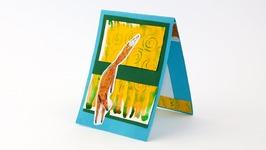 DIY Card Making: Fox Card