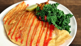 Chicken Stuffed Omelette - Easy And Quick Breakfast - The Bombay Chef - Varun Inamdar