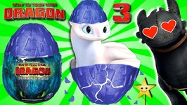 GIANT SURPRISE TOY DRAGON EGGS (How to Train Your Dragon Hidden World Toys)