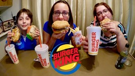 Burger King Whopper Meal And Poutine / Gay Family Mukbang - Eating Show