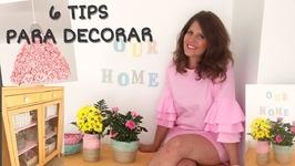 6 trucos fáciles para re decorar tu casa. Me ha quedado chulísima