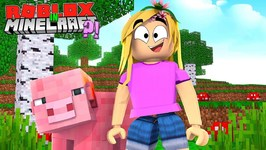 ROBLOX IN MINECRAFT?- Little Kelly Roblox