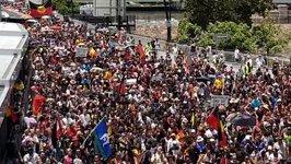 Australia Day Sparks Protests in Brisbane