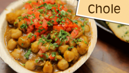 How To Make Chole / Homemade Chole Masale Recipe / Divine Taste With Anushruti