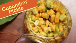 Cucumber Pickle  Instant Indian Pickle Recipe  Divine Taste With Anushruti