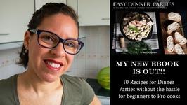 My New Ebook- Easy Dinner Parties Recipe Ebook