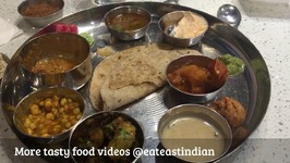 Indian Veg Thali / Gujarati Food