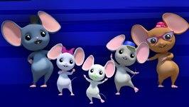 Finger Family Mouse - New Nursery Rhyme - Baby Songs - Childrens 3D Rhymes - Kids Tv Nursery Rhymes