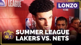 Lonzo Ball On Fatigue, Lakers Headed To Summer League Semifinals