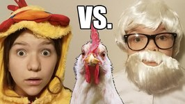 Check vs. The Colonel! Chased by a Chicken