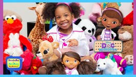 Doc Mcstuffins School  Learn Colors with Doc Mcstuffins  Kyraboo to the Rescue