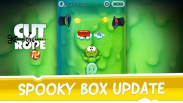 Cut the Rope - Spooky Box Update