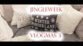 Jingle Week Vlogmas 3 - Dvf Interview, Job Update, And First Xmas Tree