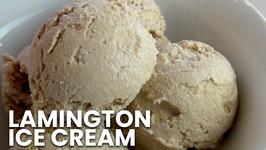 Lamington Ice-Cream