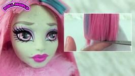 Monster High Doll Makeovers Rochelle Goyle Venus McFlytrap