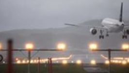 Storm Burglind Wreaks Havoc at Zurich Airport as Pilot Struggles to Land Plane