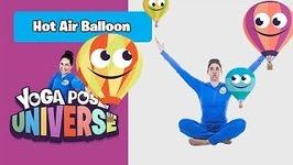 Hot Air Balloon Pose - Yoga Pose Universe