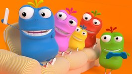 Mad Beans - Finger Family Mad Beans - Kids Songs - Cartoons For Kids - Mad Beans