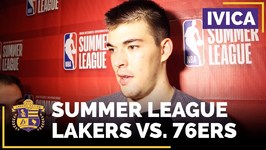 Lakers Summer League - Ivica Zubac Bounces Back In Win Over 76ers