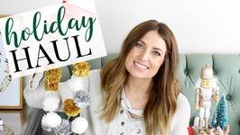 Holiday Decor Haul - Target/Michaels/Walmart